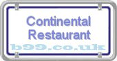 continental-restaurant.b99.co.uk