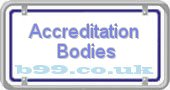 accreditation-bodies.b99.co.uk