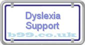 dyslexia-support.b99.co.uk