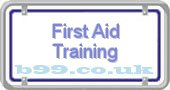 first-aid-training.b99.co.uk