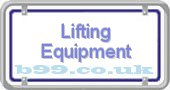 lifting-equipment.b99.co.uk