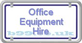 office-equipment-hire.b99.co.uk