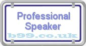 professional-speaker.b99.co.uk