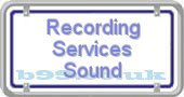 recording-services-sound.b99.co.uk