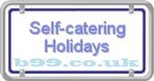 self-catering-holidays.b99.co.uk