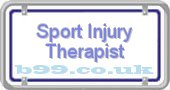 sport-injury-therapist.b99.co.uk