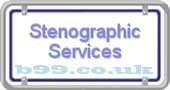 stenographic-services.b99.co.uk