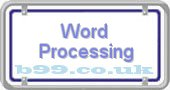 word-processing.b99.co.uk